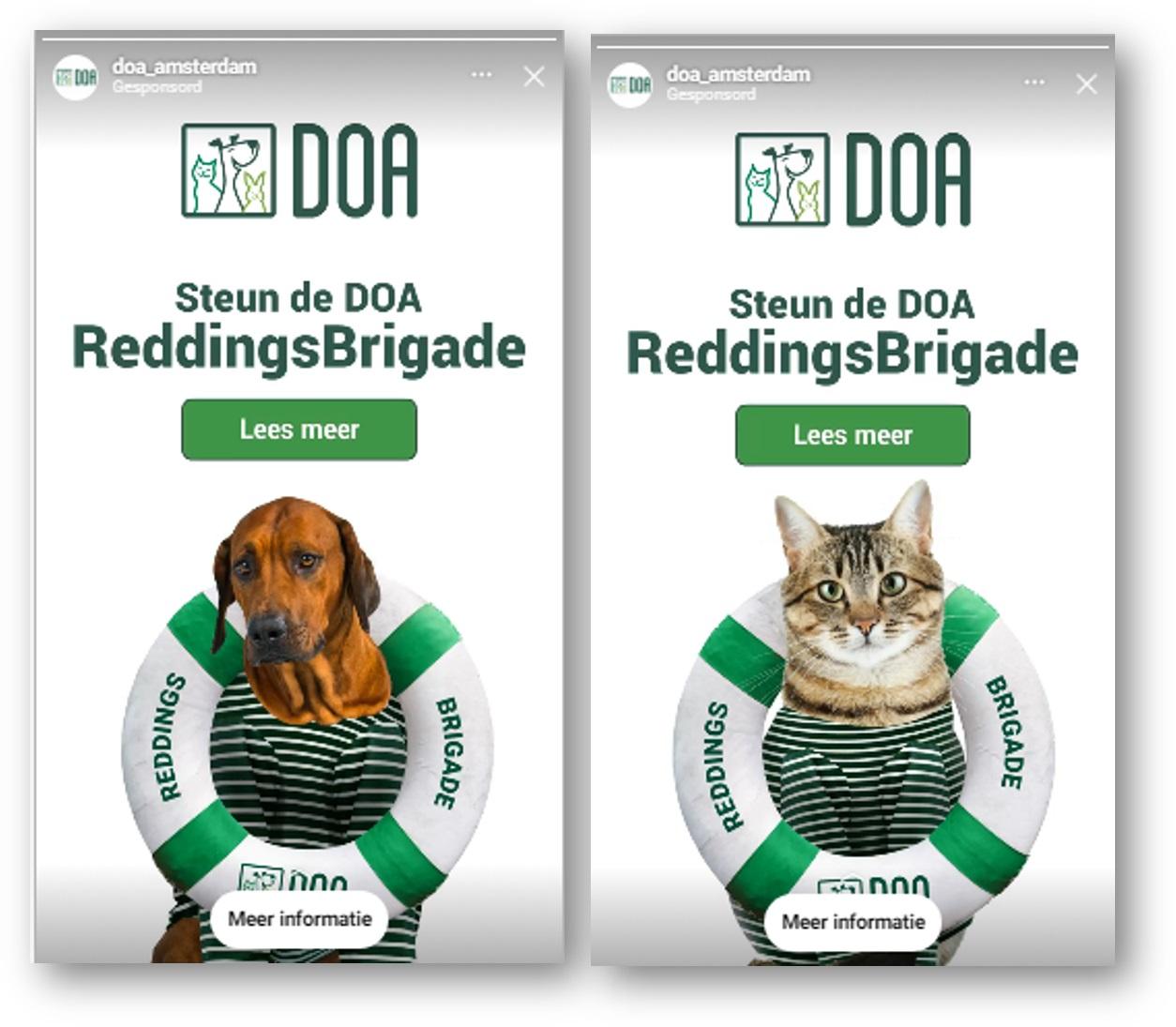 Campagne: de Reddingsbrigade van DOA